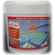 Tableta cloro 4 acciones Hydrosud